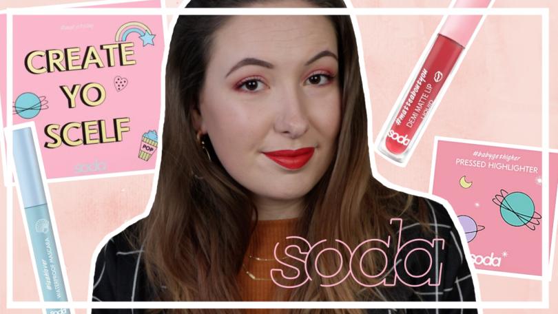 Nieuwe Soda make-up testen