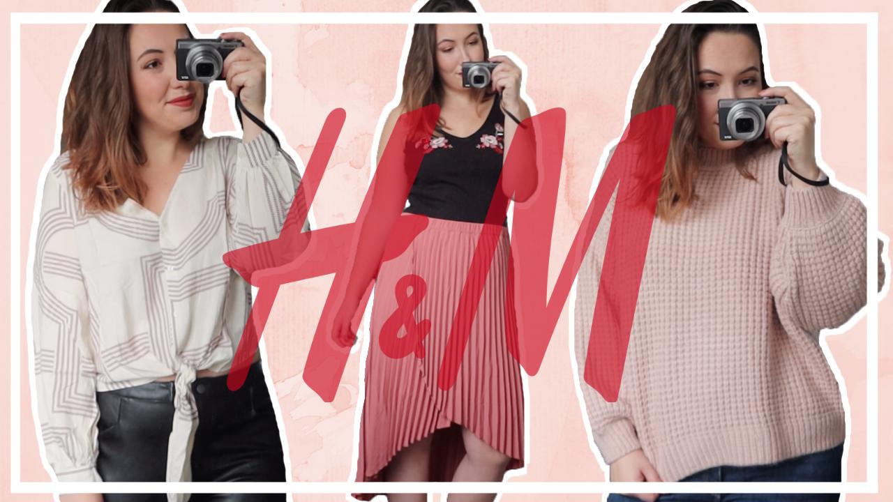 Try-on H&M shoplog - winter/lente 2020