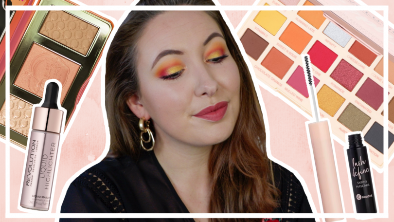 Felle cut crease met nieuwe make up // SPELEN MET MAKE UP #1