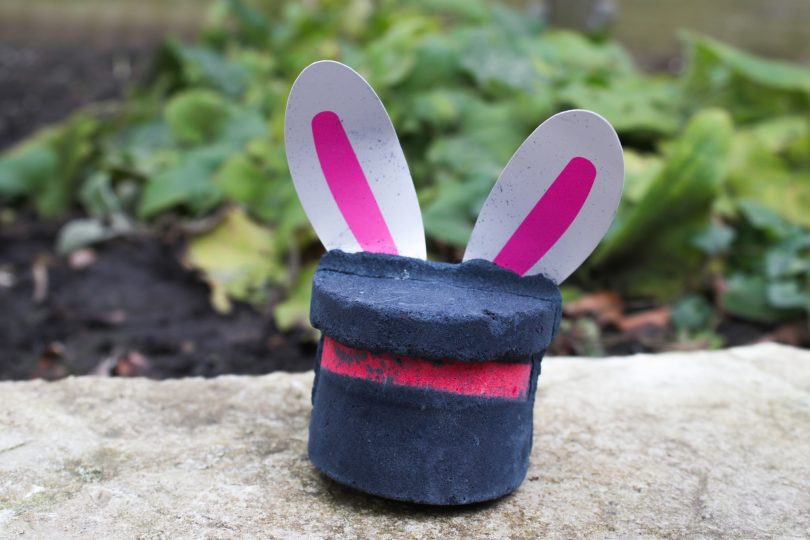 LUSH Magic Rabbit bath bomb