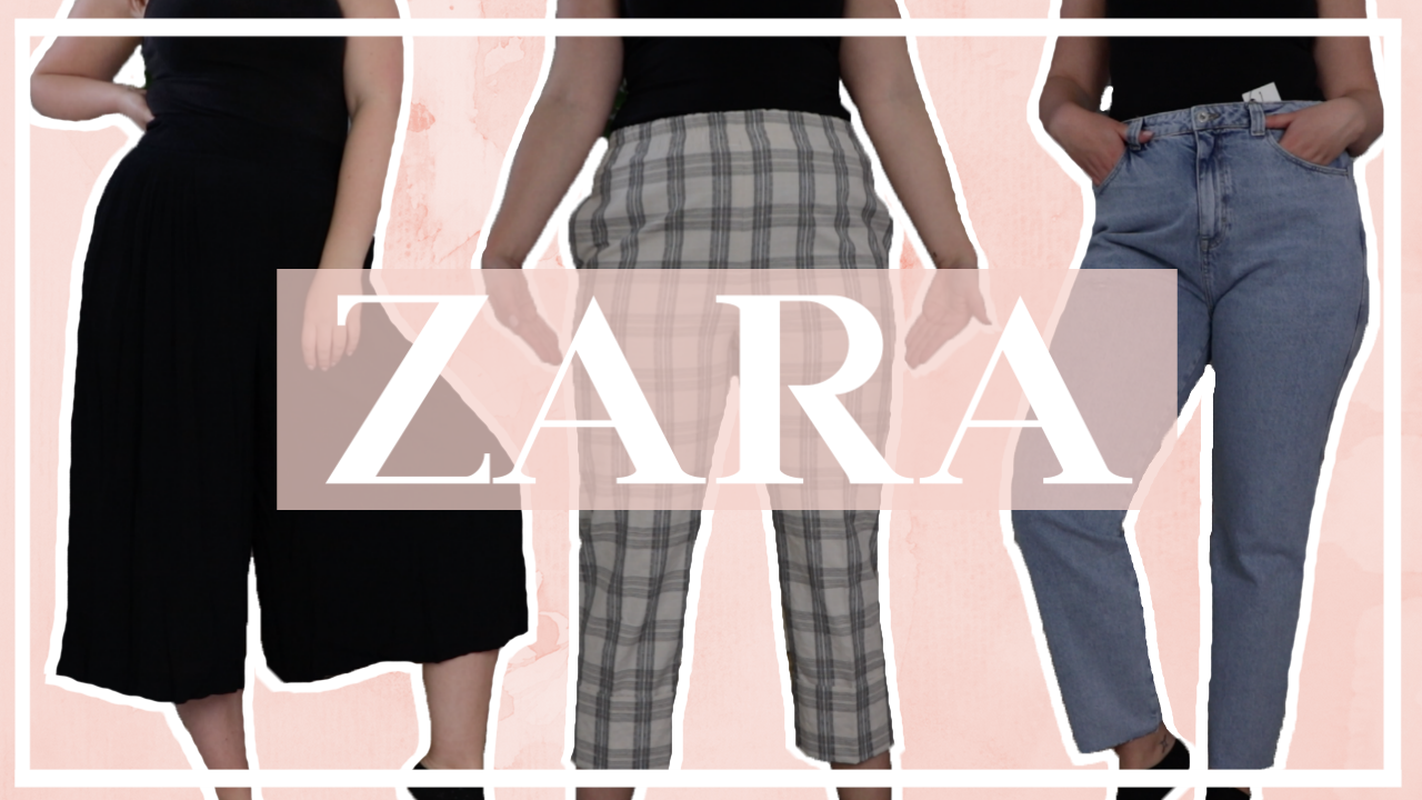 ZARA broeken shoplog // 10 maat 44 broeken vergelijken