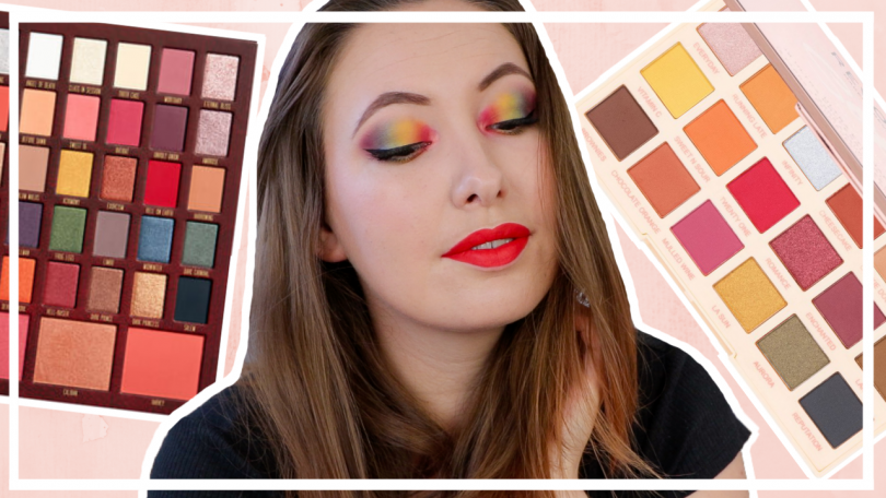 Regenboog oogschaduw // Spelen met make up #3