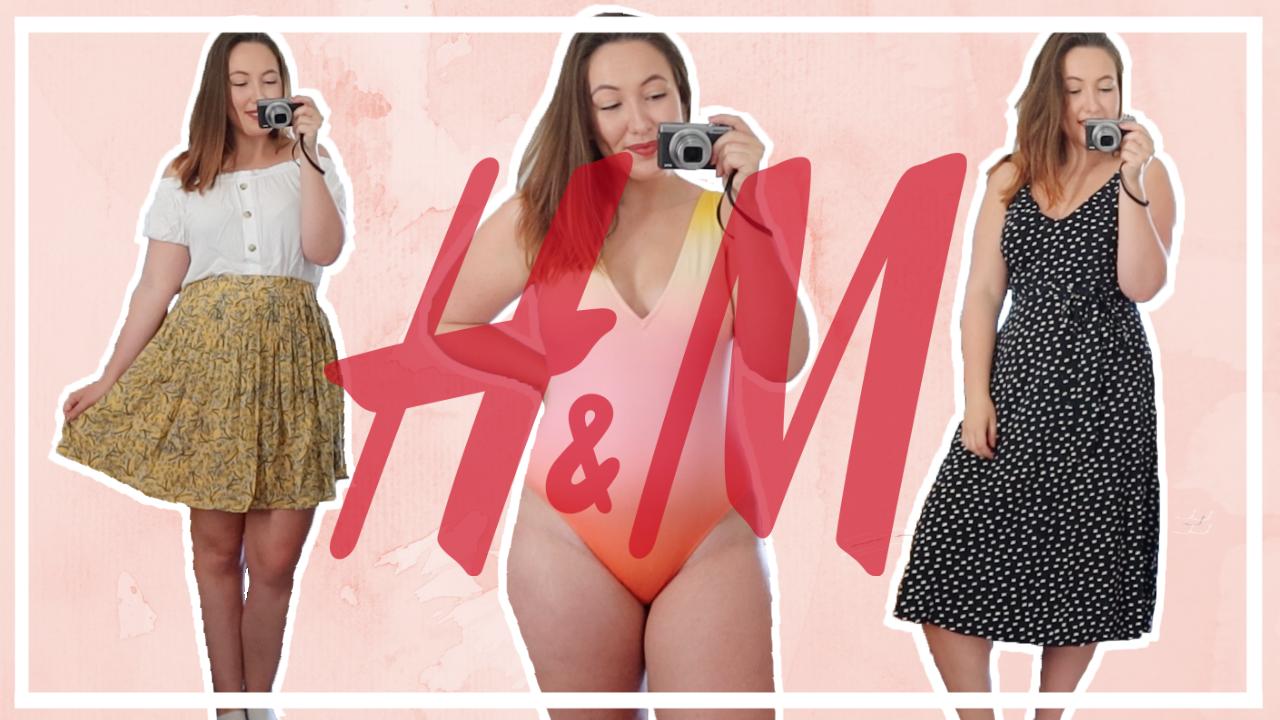Try-on H&M shoplog - lente/zomer 2020