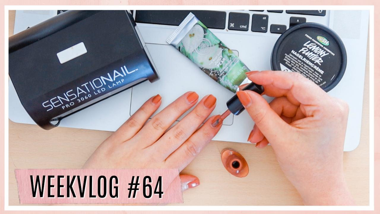 Hoe ik mijn nagels verzorg at home // WEEKVLOG #64