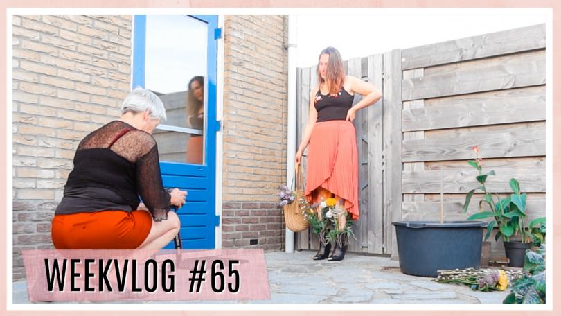 Kledingkast opruimen & Instagram foto maken // WEEKVLOG #65