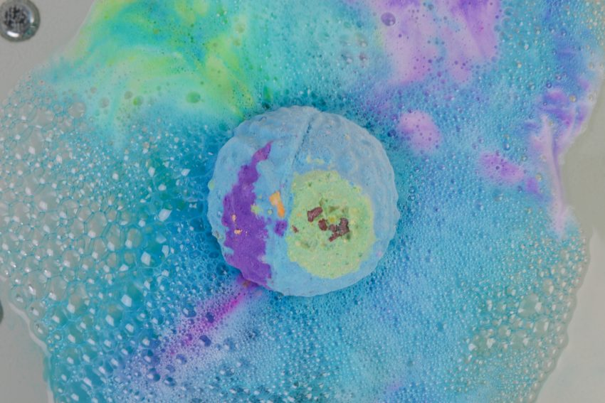 LUSH bath bombs Flight & Temple of the Sky