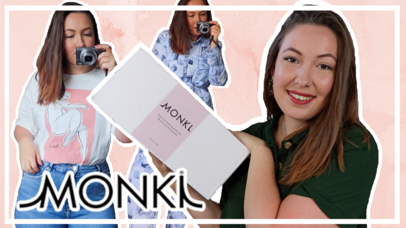 Try-on Monki shoplog