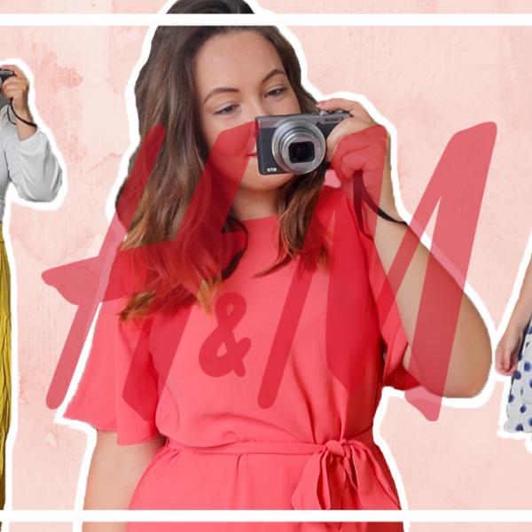 Try-on H&M shoplog - juli 2020