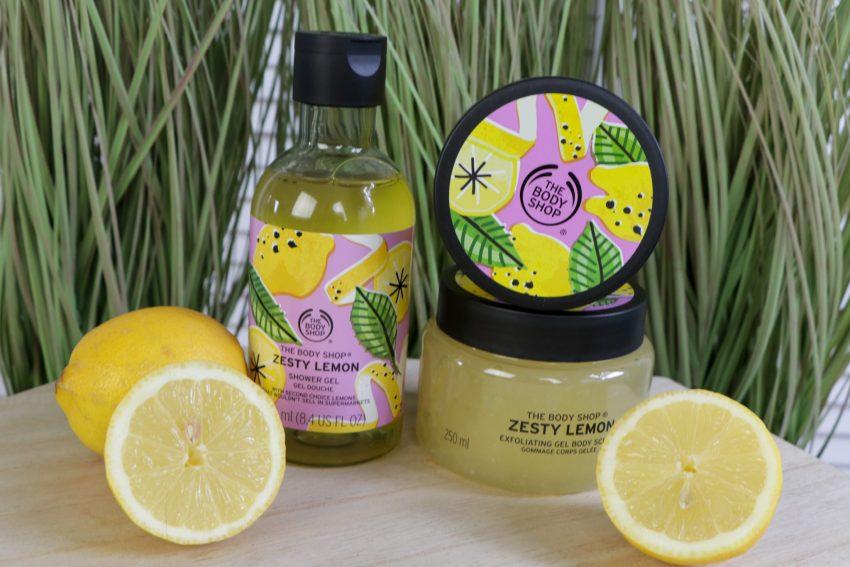 The Bodyshop Zesty Lemon & Cool Cucumber