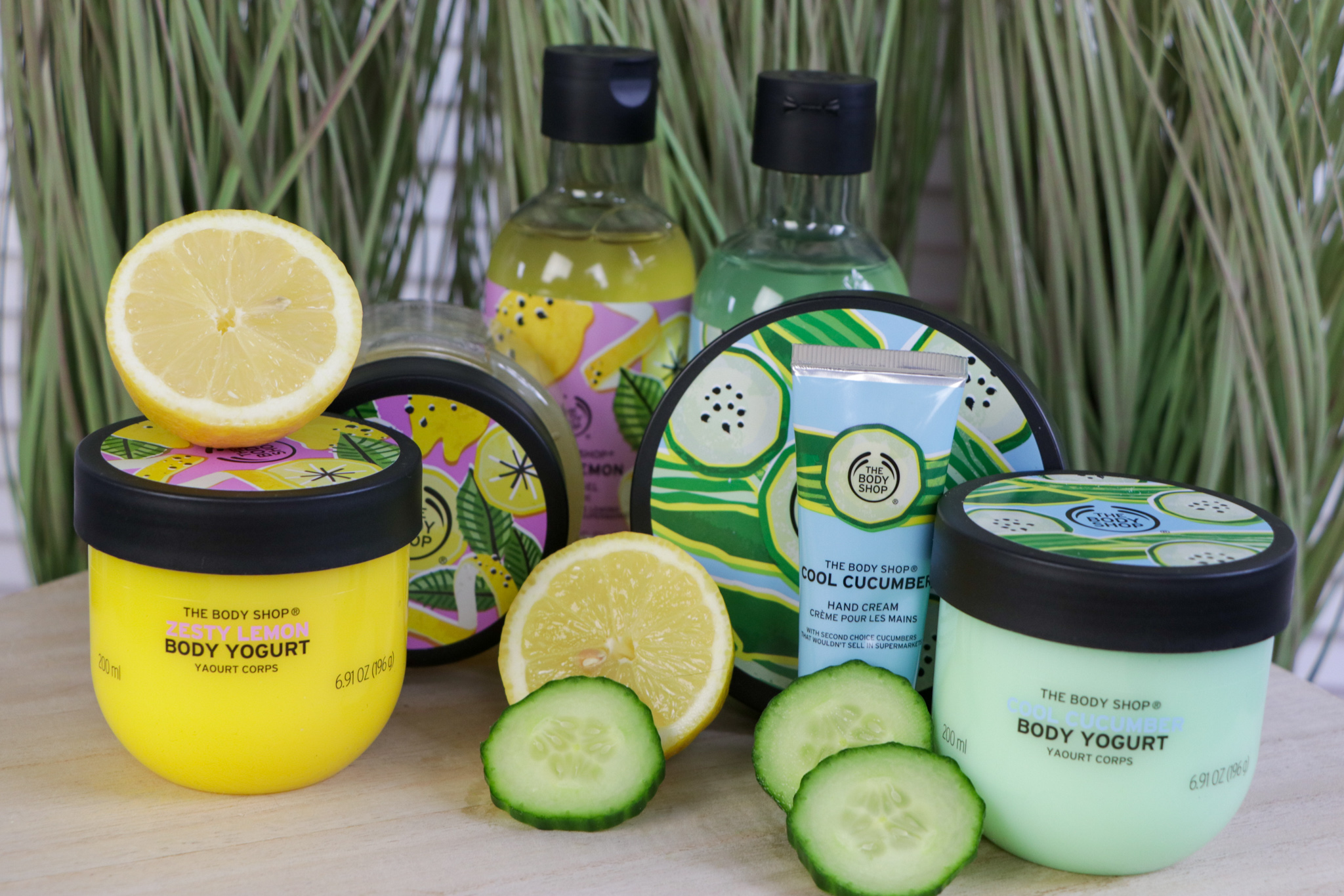 The Bodyshop Zesty Lemon & Cool Cucumber