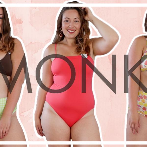 Monki bikini & badpak shoplog (maat 40-42)