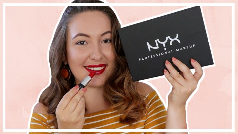 NYX Shout Loud lipsticks testen