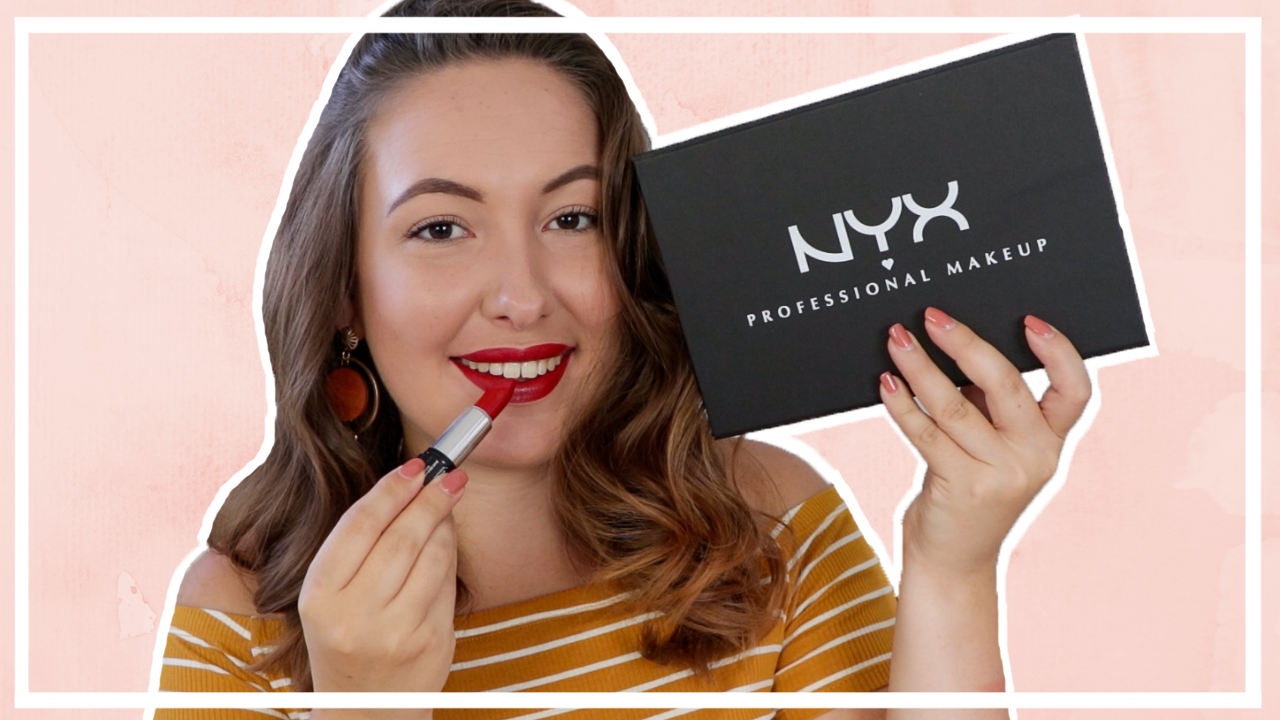 NYX Shout Loud lipsticks testen