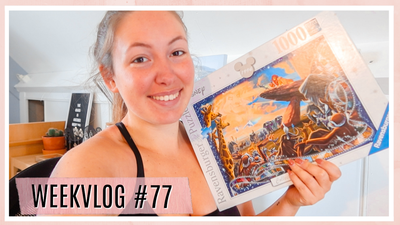 Puzzelen & LUSH Kitchen unboxing // WEEKVLOG #77
