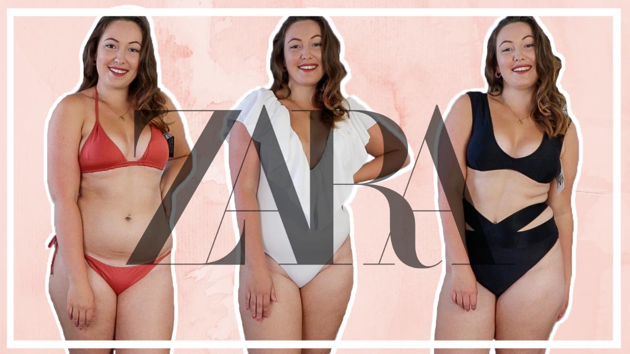 ZARA bikini & badpak shoplog (maat 40-42)