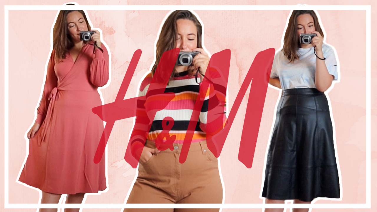 XL Try-on H&M shoplog