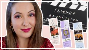 Makeup Revolution x Friends collectie testen