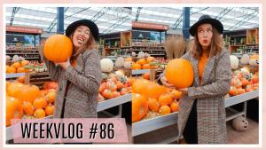Life update, nieuwe jas & pompoenen shoppen // WEEKVLOG #86