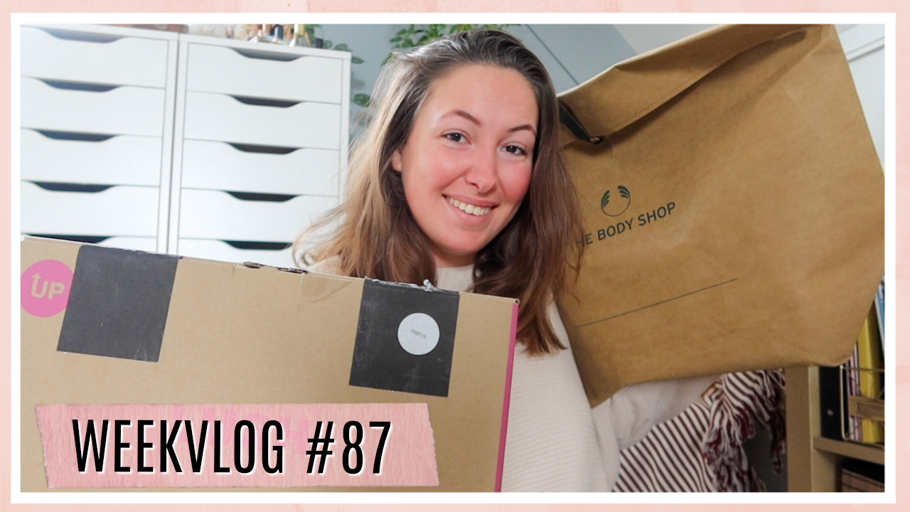 Self care & pakketjes unboxen (LUSH Kitchen & kerstcollecties) // WEEKVLOG #87