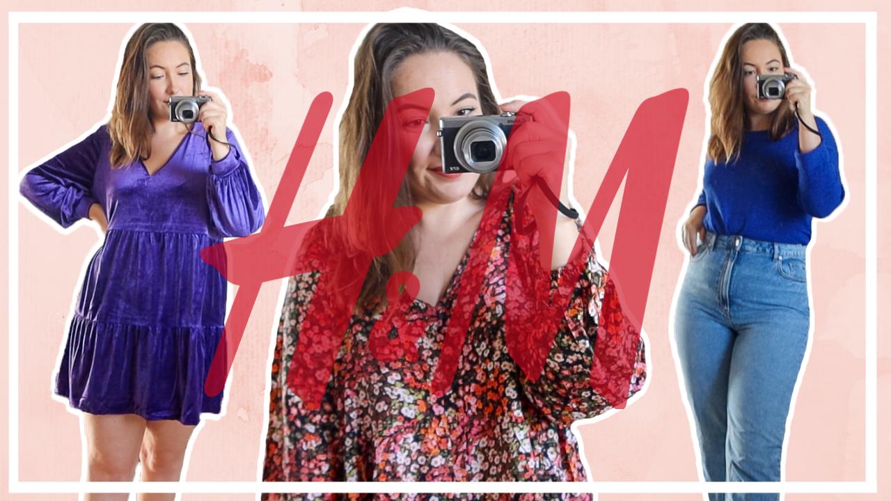 XL Try-on H&M shoplog - oktober 2020
