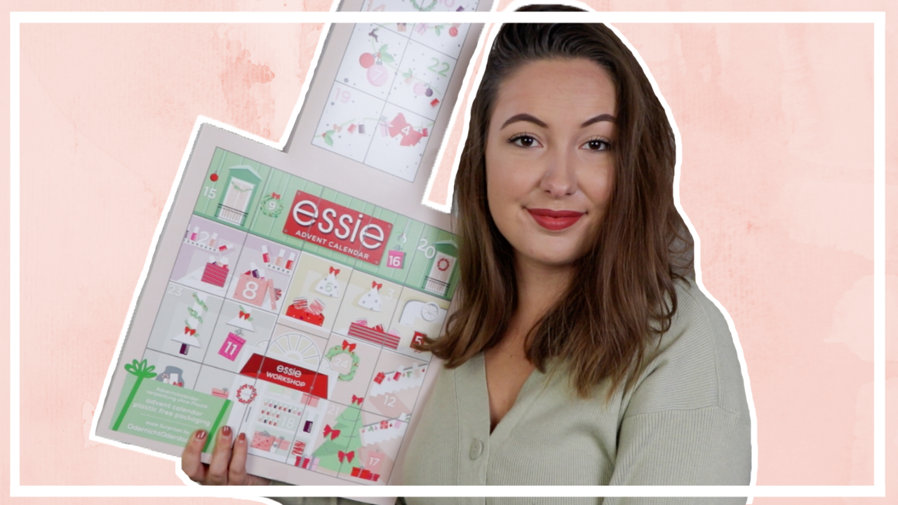 Essie adventskalender 2020 unboxing