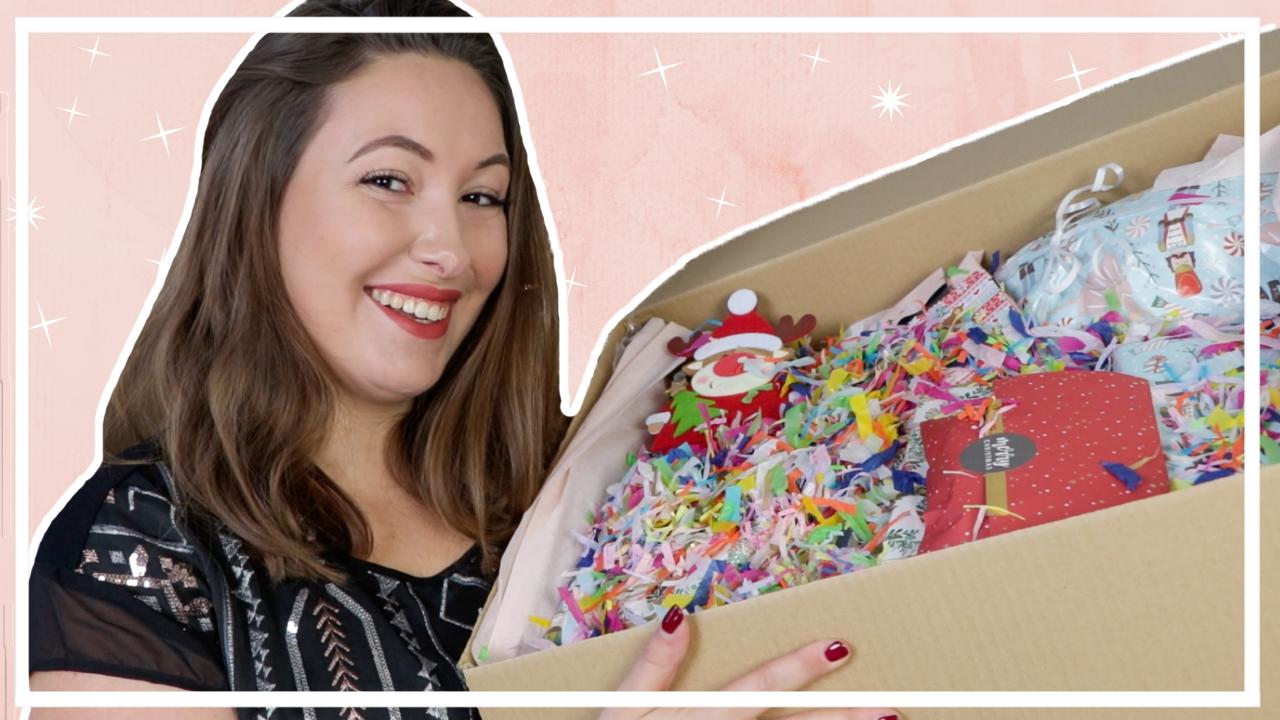 Kerstpakket unboxing - swap met Elisedingen