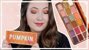 Too Faced Pumpkin Spice palette testen