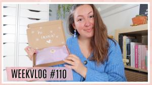Pakketje unboxen, fijne week & ijsje eten // WEEKVLOG #110