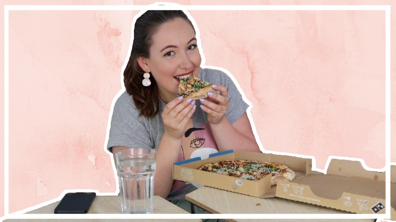 Pizza mukbang + Q&A