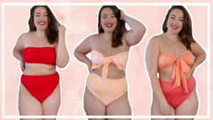 Try-on Monki bikini & badpak shoplog 2021