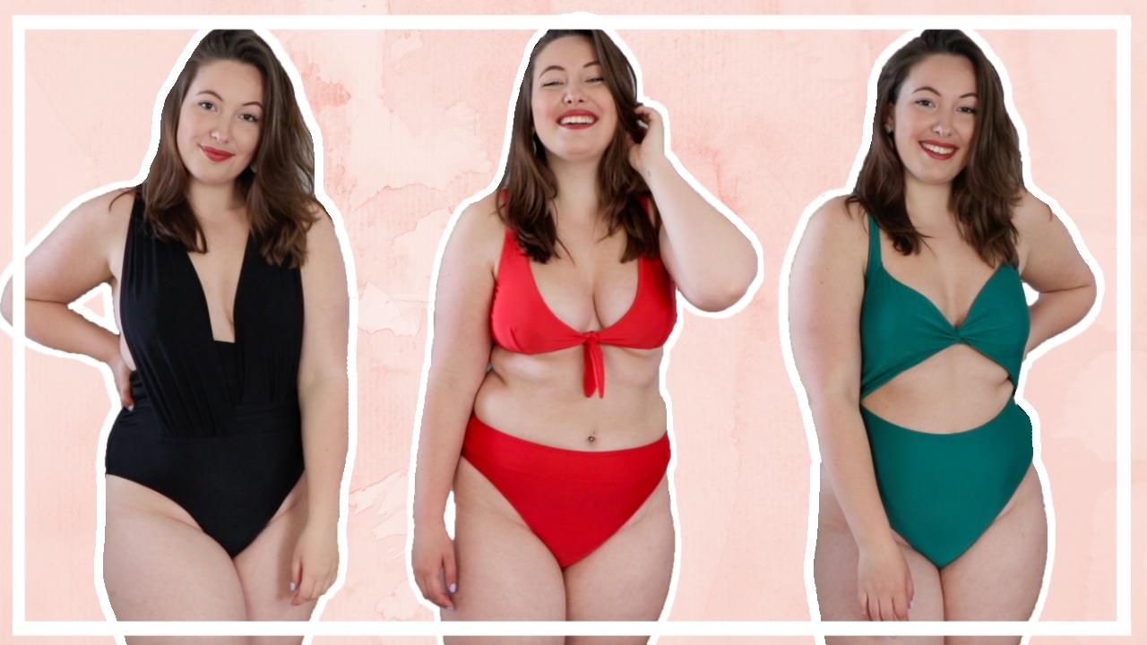 Try-on NA-KD bikini & badpak shoplog 2021