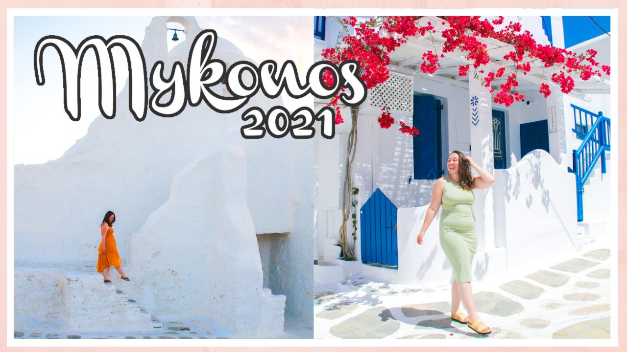 Op vakantie naar Mykonos // VAKANTIEVLOG #1