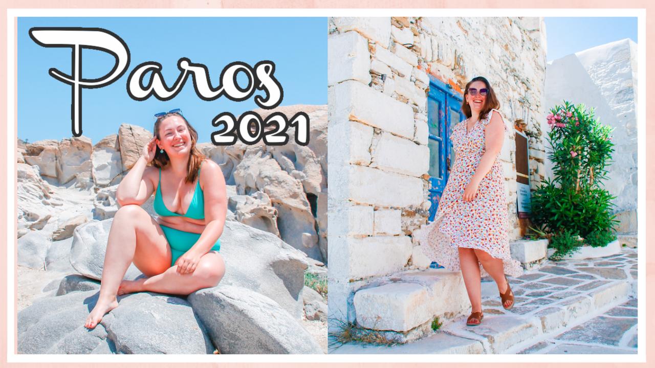 Geweldig strand & mijn verjaardag vieren op Paros // VAKANTIEVLOG #2