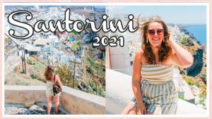 Ik ben weer terug op het prachtige Santorini // VAKANTIEVLOG #3