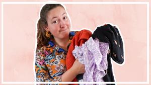 Mijn kledingkast opruimen & uitzoeken 2021